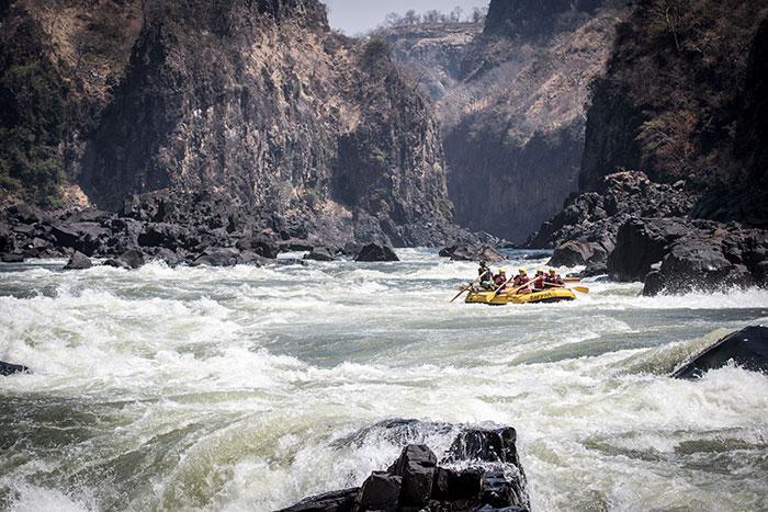 Rafting auf dem Sambesi