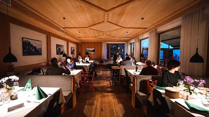 Restaurant Apollonia innen