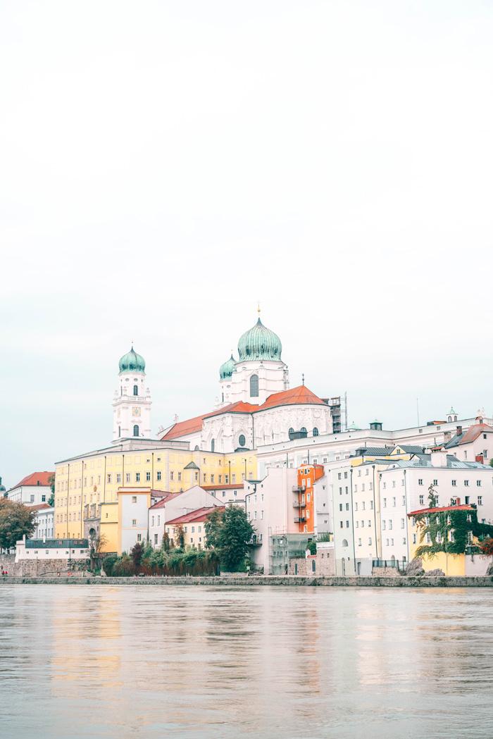 Schiffahrt in Passau