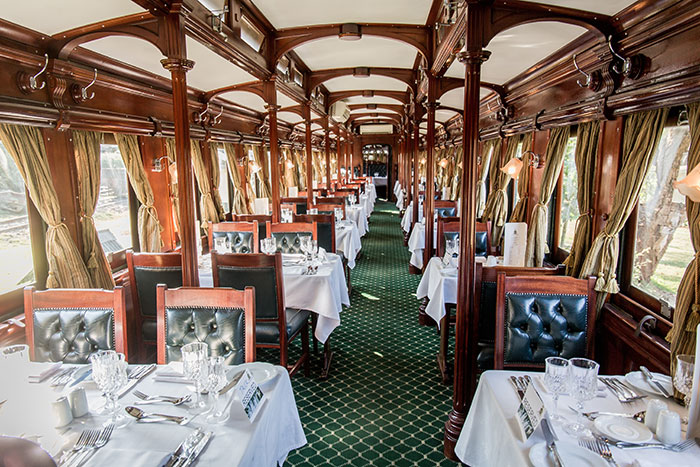 Speisewagen Livingston Express