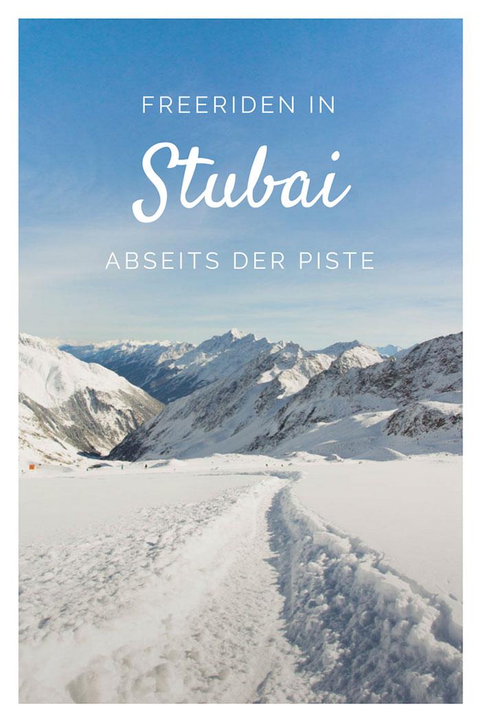 Stubai Tal Freeriden