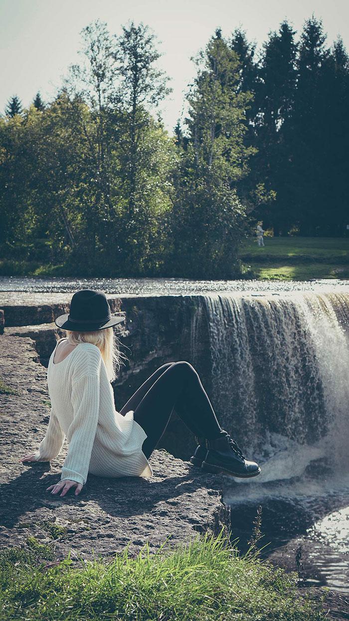Tara Jägala Wasserfall