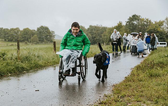 Team Assistenzhund Rollstuhlfahrer