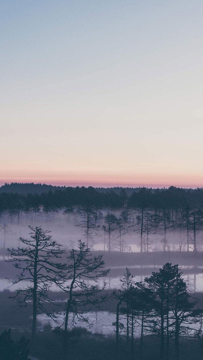 Viru Sonnenaufgang Aussicht