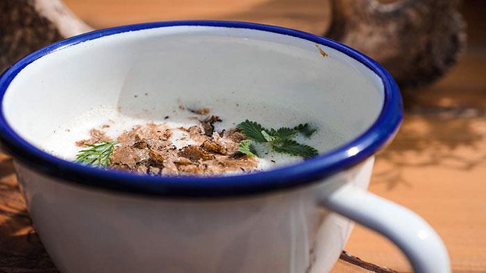 Wandern Gompm Alm Suppe