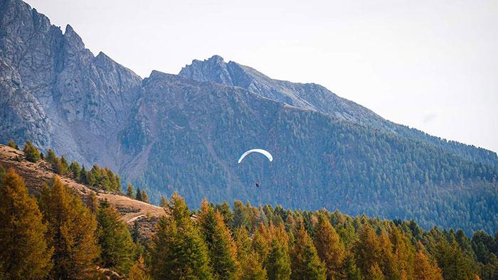 Wandern Paragliden