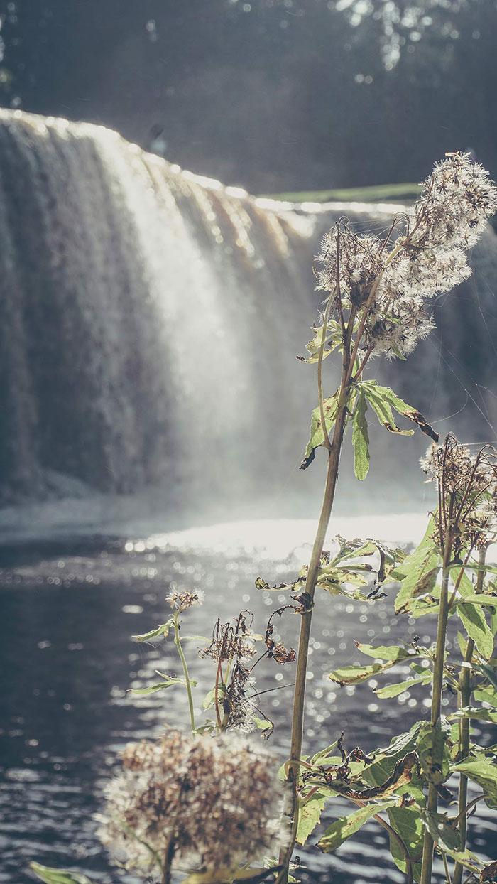 Wasserfall Estland Impressionen