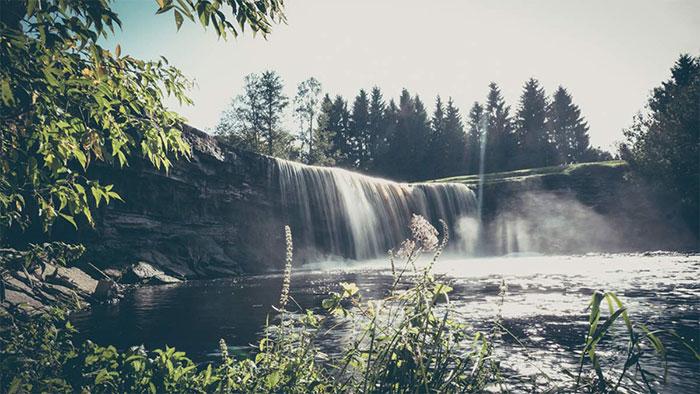 Wasserfall Estland Jägala