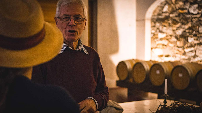Weinverkostung Kellerei