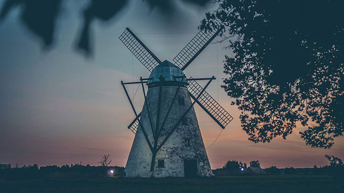 Windmühle Estland