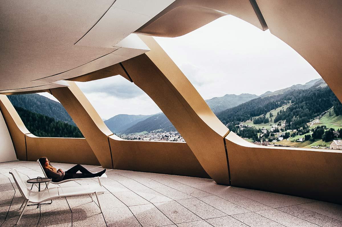 Goldenes Ei Davos Christine Neder