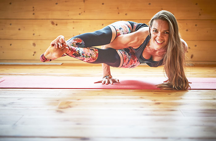 Holzhotel Forsthofalm vegan yoga