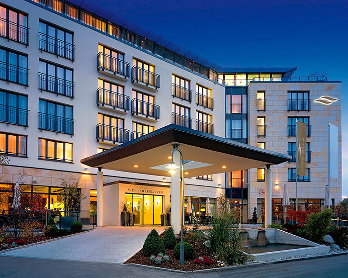 Hotel Vier Jahreszeiten Starnberg Front