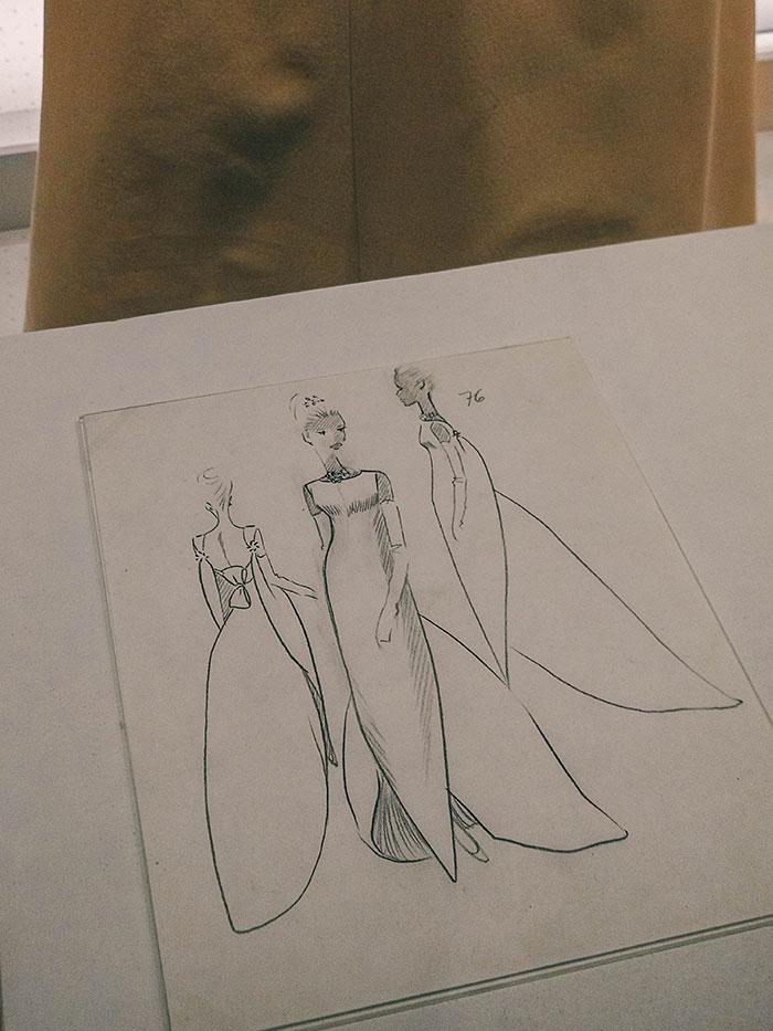 Skizze Balenciaga
