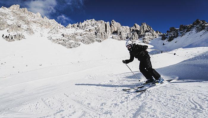 6A Latemar Skifahren