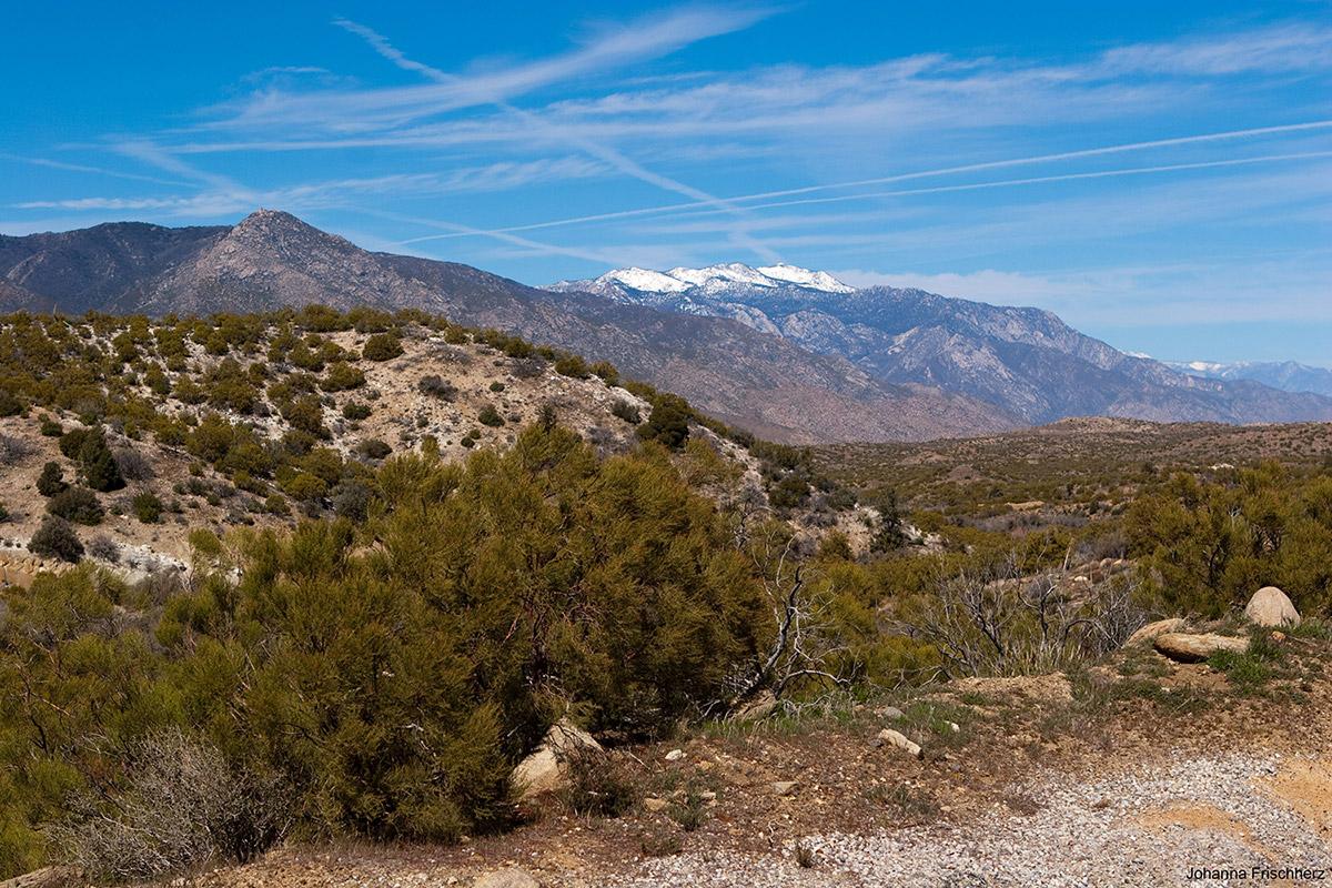 Anfahrt Mount San Jacinto