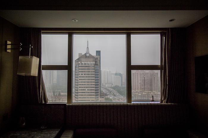 Ausblick aus dem Zhejiang International Hotel Hangzhou