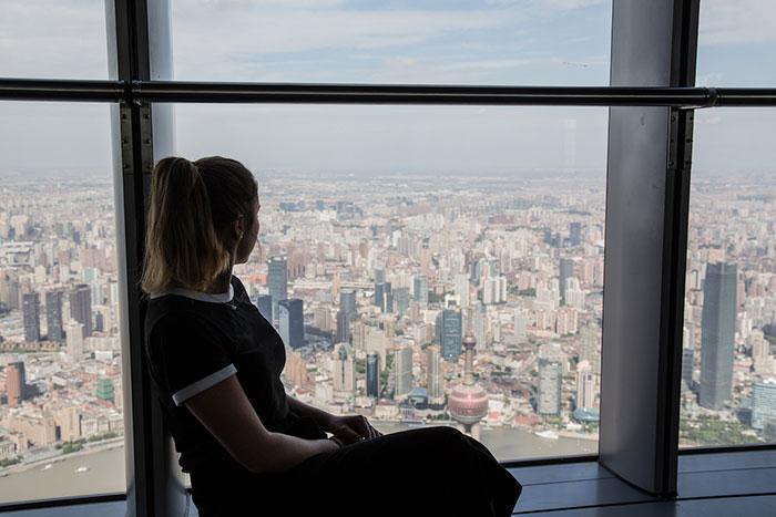 Aussichtsplattform Shanghai Tower
