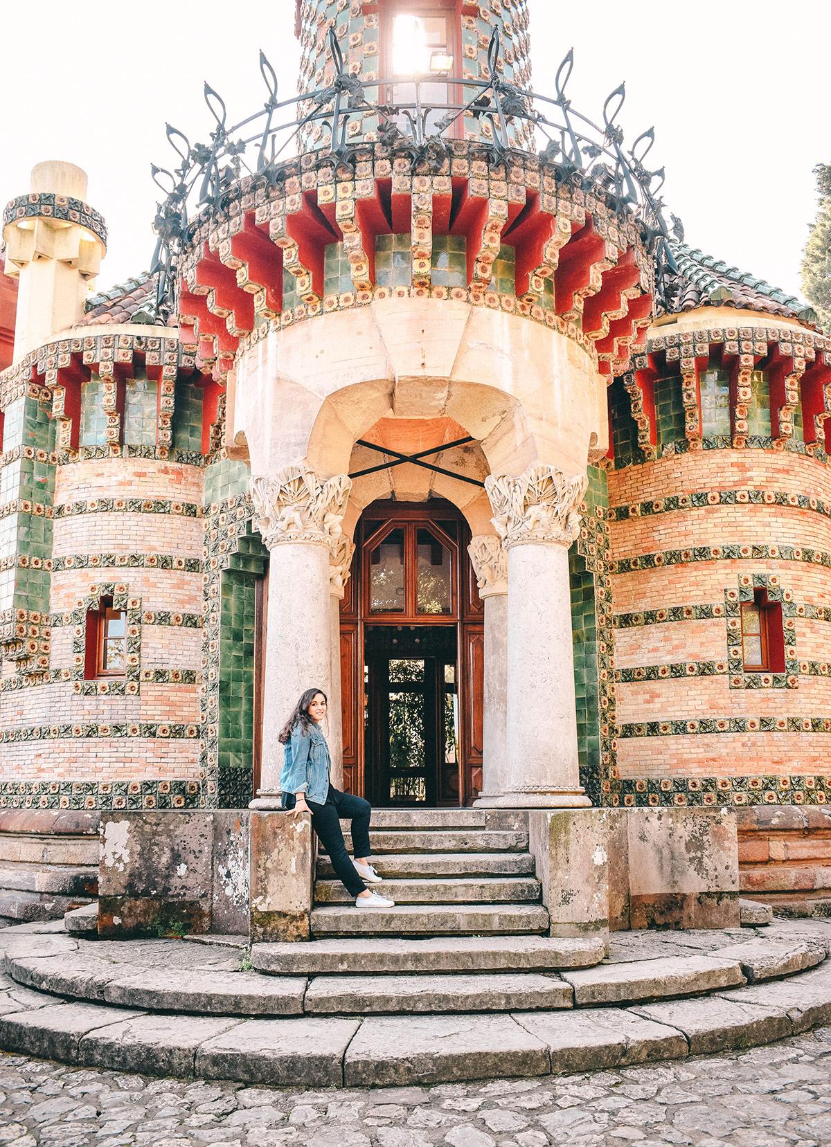 Capricho de Gaudi aussen