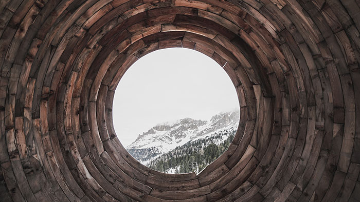 Eye to the Dolomites