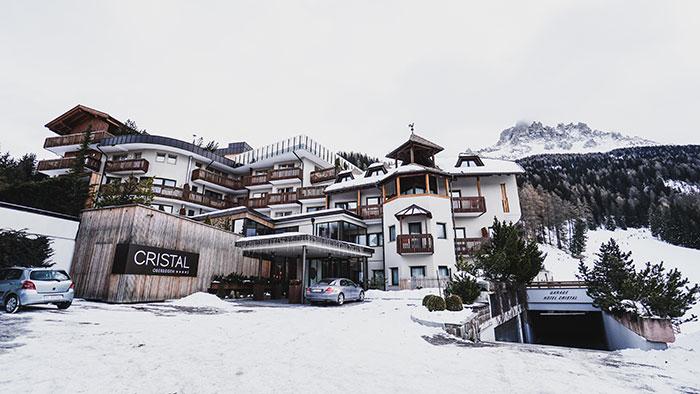 Hotel Cristal aussen