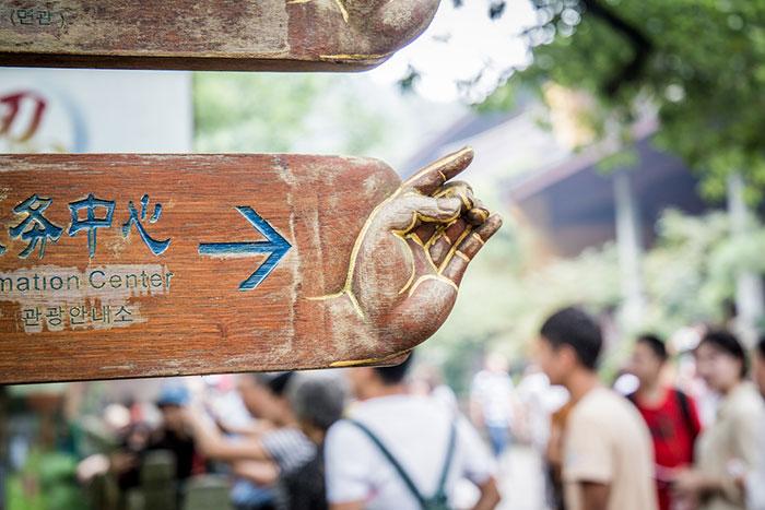 Lingyin Tempel Hangzhou