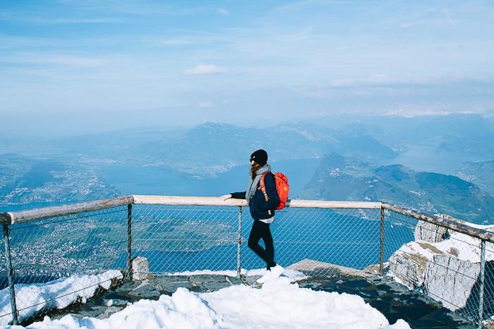 Blick auf das Luzern Seebecken