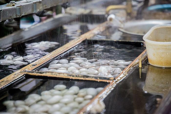 Seidenproduktion in Suzhou
