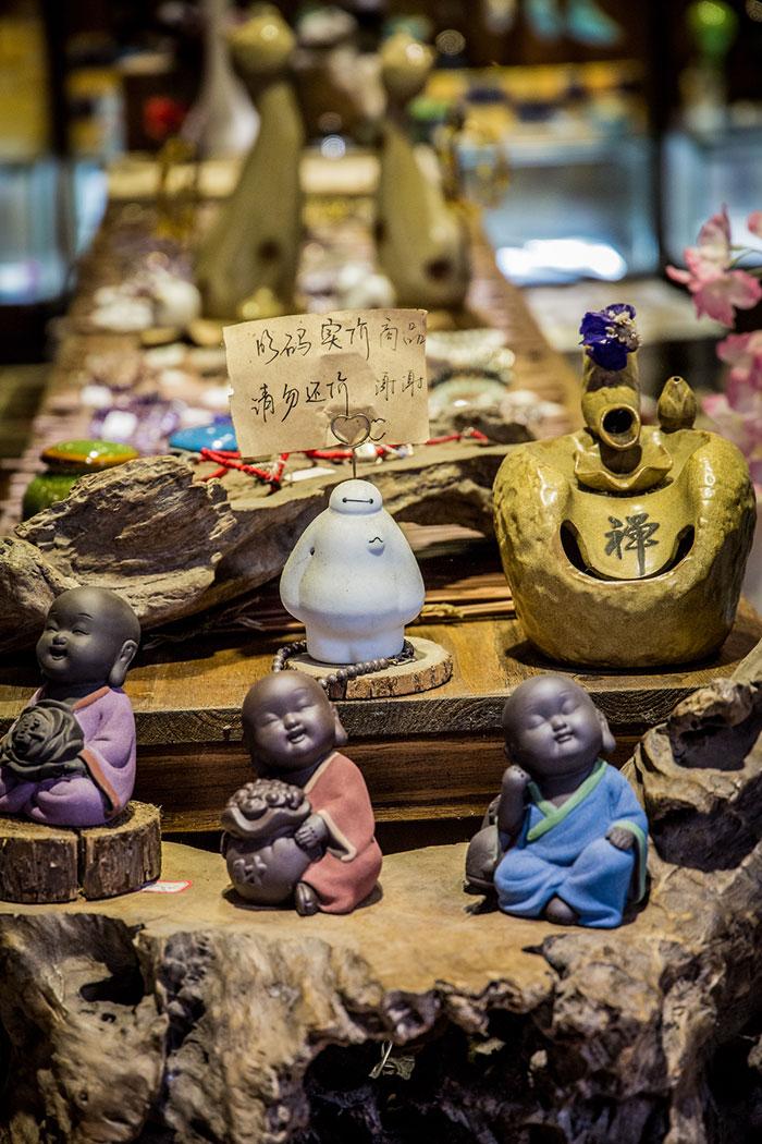 Souvenirs in Zhouzhuang