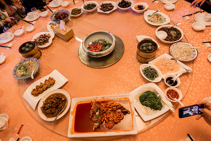Traditionell essen in China