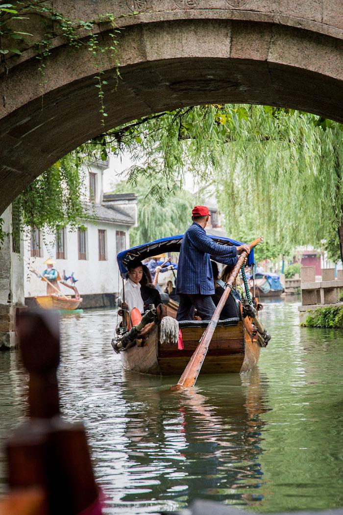 Venedig des Ostens Zhouzhuang