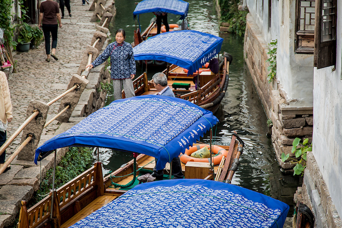 Venedig des Ostens_ Zhouzhuang
