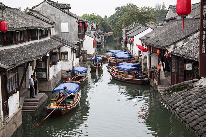 Wasserstadt Zhouzhuang