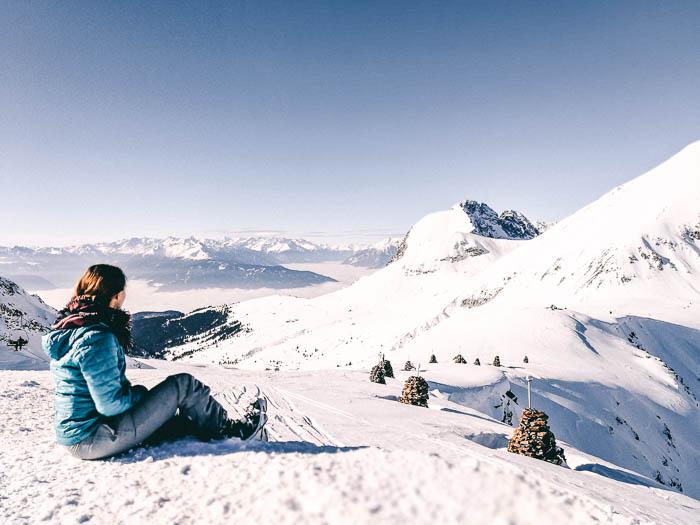 aussicht meran 2000 bergstation