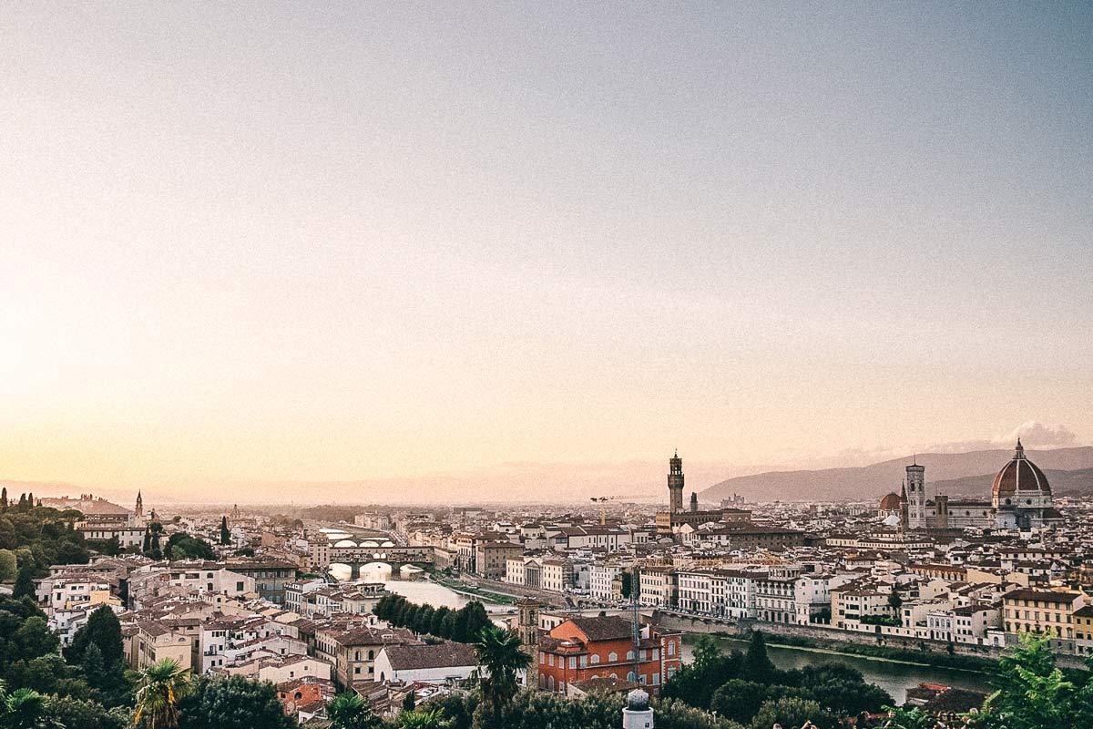 Aussicht Piazzale Michelangelo
