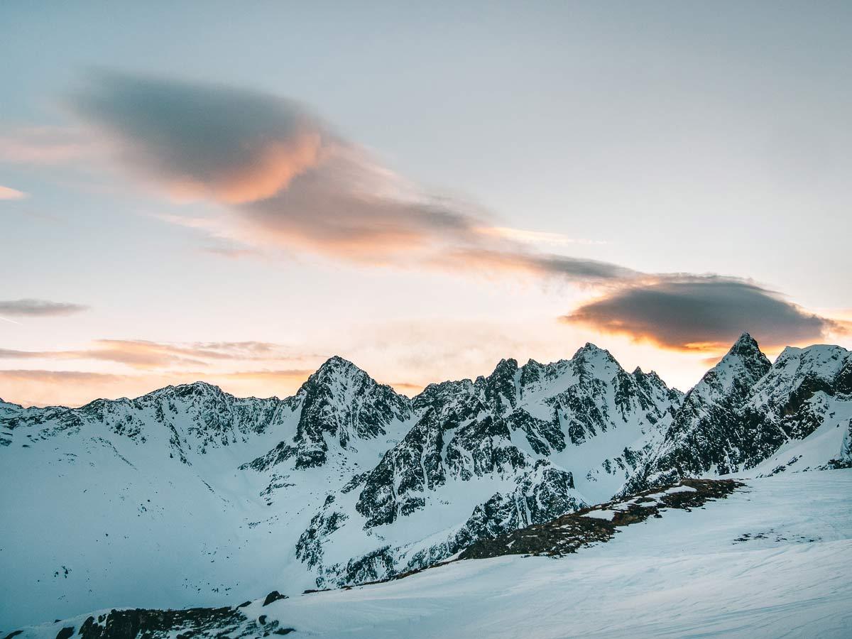 Berglandschaft Hochzeiger