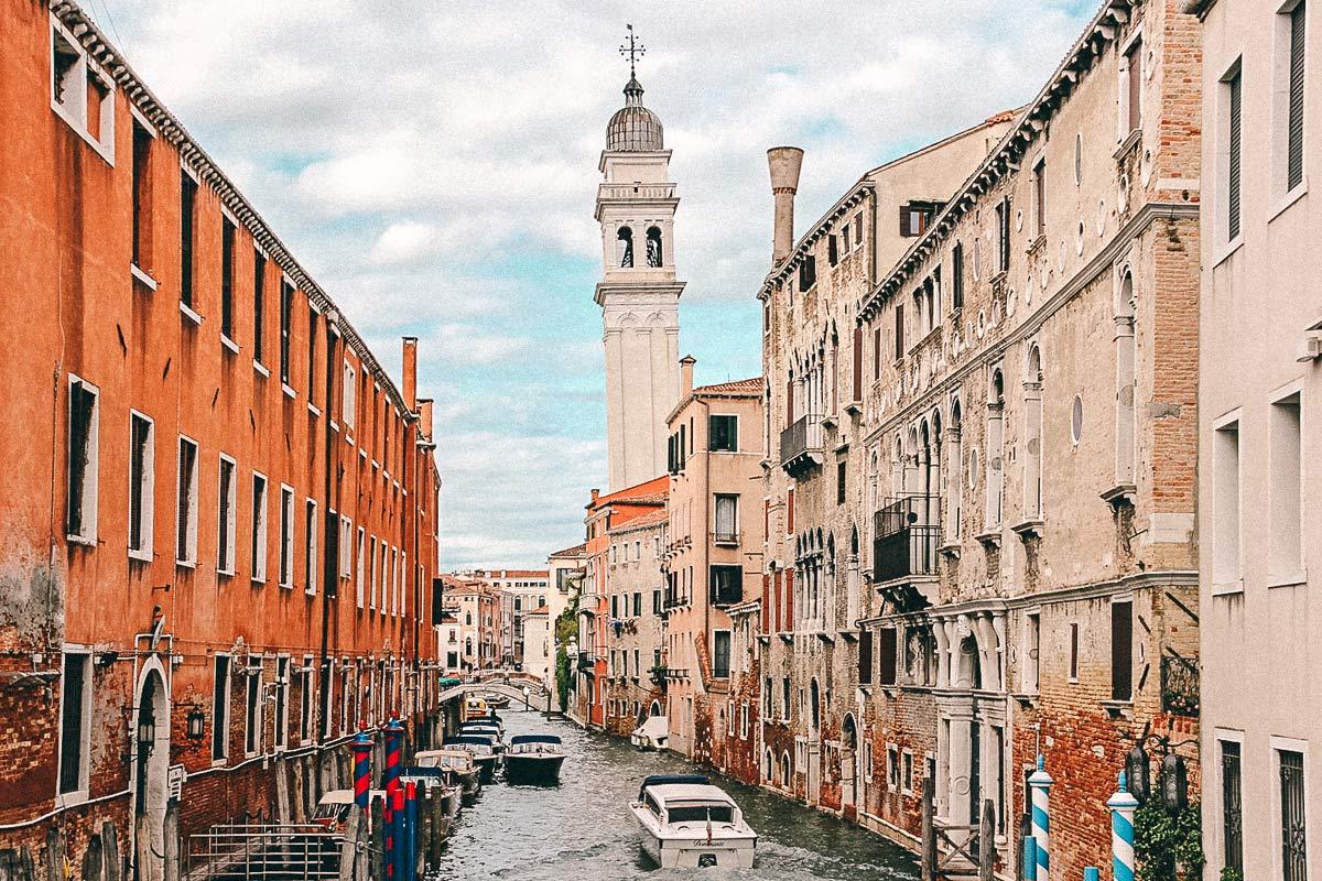 Bootstour in Venedig