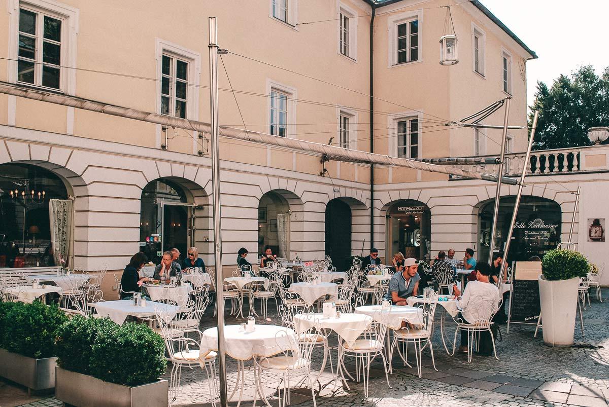 Cafe in Innsbruck