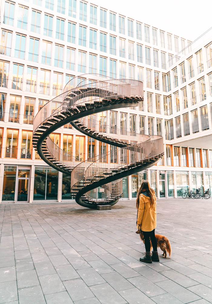Christine Neder unendliche Treppe