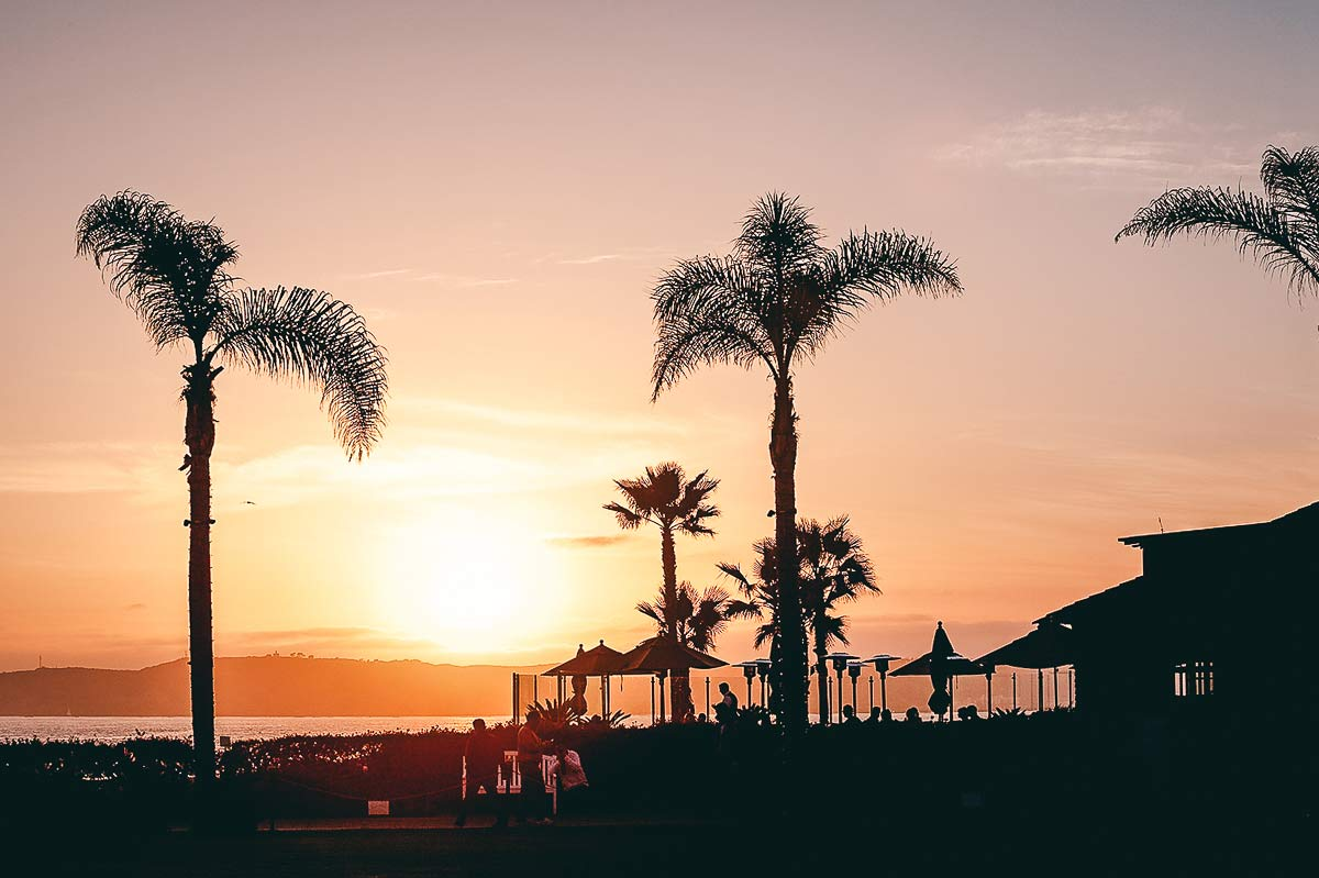 Coronado Sonnenuntergang