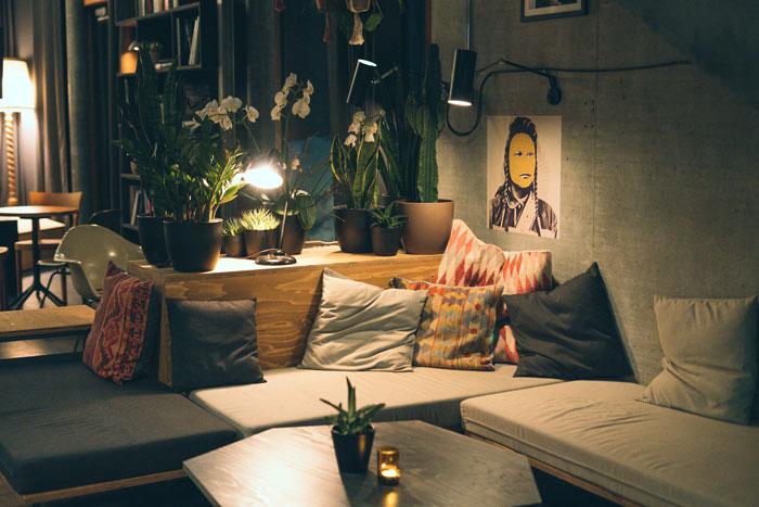 Laax - Ridershotel Lounge