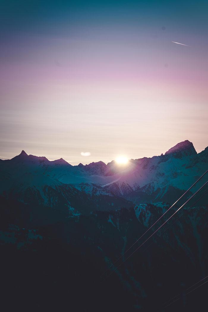 Laax - Sunrise