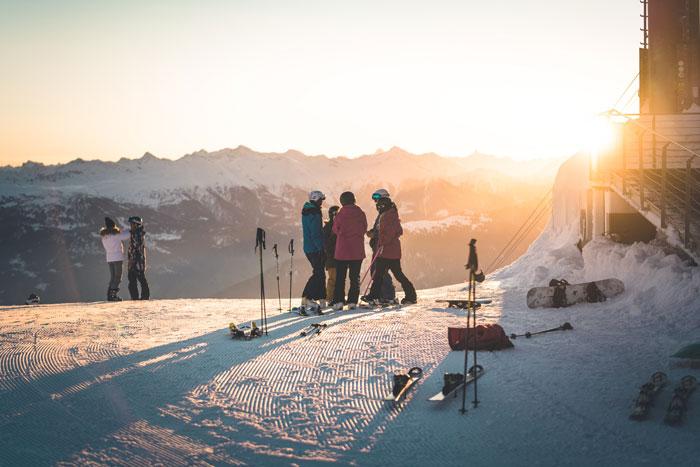 Pisten Skigebiet Laax