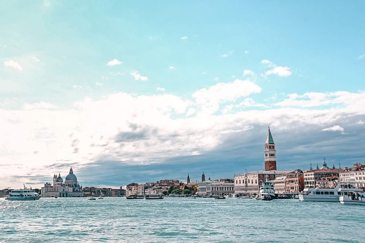 Einfahrt Venedig