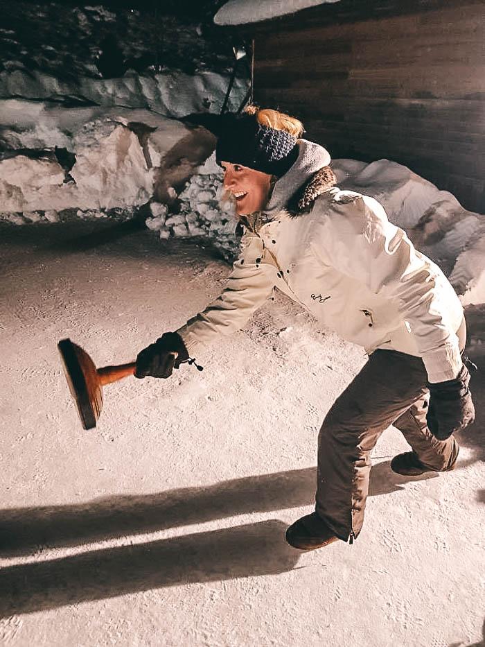 Eisstockschiessen Skigebiet Carezza