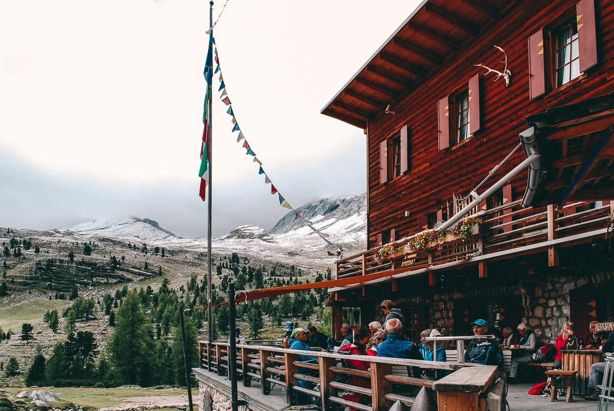 Fenneshuette in Südtirol