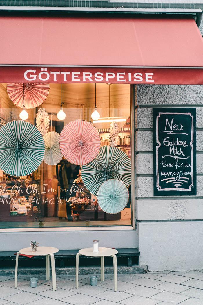 Götterspeise München Glockenbachviertel