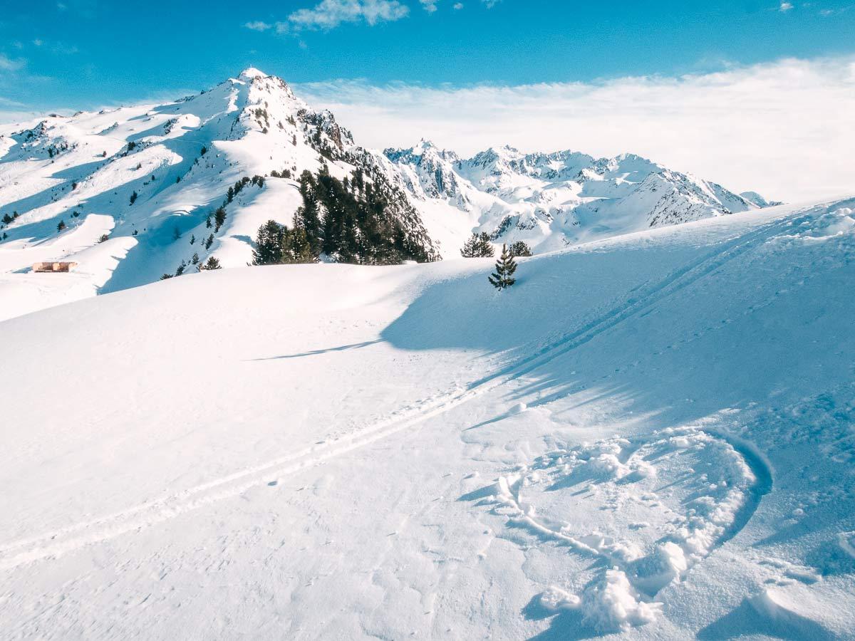 Herz Skigebiet Hochzeiger