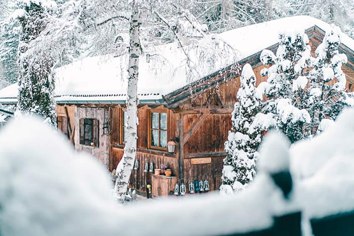 Hotel Tann im Winter