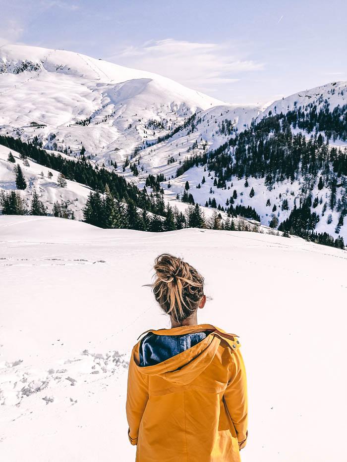 Christine Neder Winter Südtirol